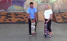 How to ride skate, beginners. Get the equipment. Here you will learn to get the right equipment to learn how to skate, to stand on skateboard