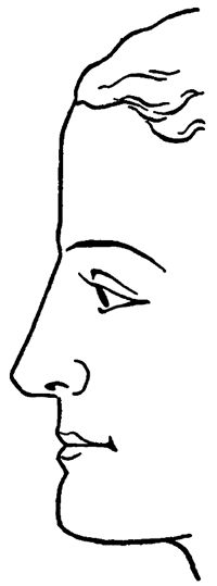 Step 08 face profile How to Draw Human Faces in Profile Side View with Easy Method Tutorial