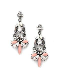 The Urban Princess Earrings in Pink + Sparkle