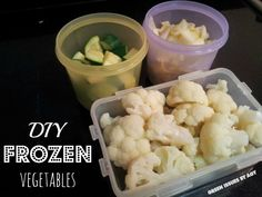 Green Issues by Agy: How to Freeze Your Vegetables