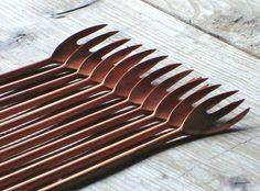 Wooden spoons :  Hiroyuki Sugawara