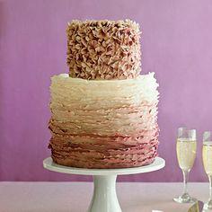 ombre weding cake #weddingcake