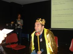 acting the king
