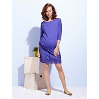 Dual Fabric Maternity Dress £39  http://www.cruxbaby.co.uk/shop/dresses-skirts/dual-fabric-maternity-dress/