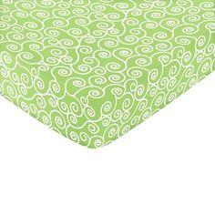 Sweet Jojo Designs Olivia Fitted Crib Sheet - Print