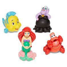 Disney Collection Little Mermaid Bath Set-JCPenney, Color: 2017 Little Mermaid Baby, Little Mermaid Birthday, Disney Little Mermaids, Disney Barbie Dolls, Ariel Doll, Mermaid Bath Toys, Baby Hazel, Rubber Duck, 3rd Birthday