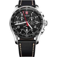 Chrono Classic XLarge Black 241444, horloge voor heren