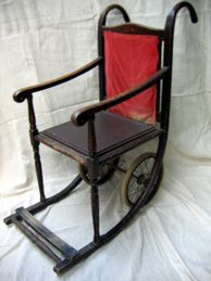 Victorian Bentwood Wheelchair
