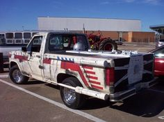 X-wing Pick-up. this is the perfect truck.