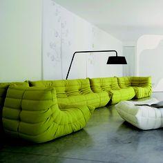 ecksofa in u form als gem tliche wohnlandschaft couch wohnzimmer sofa home sofas. Black Bedroom Furniture Sets. Home Design Ideas