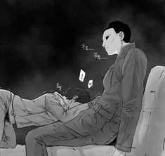 Image Dead_by_Daylight Jake_Park Michael_Myers The_Shape Michael Myers, Michael X, Horror Villains, Horror Movie Characters, Horror Movies, Noche Halloween, Yuri, Jake Park, Otaku