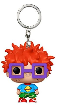 Funko Pop Keychain Rugrats Chuckie Action Figure From rugrats, chuckie, as a stylized pocket pop keychain from funko! Stylized collectable keychain stands 1 inches tall, perfect for any rugrats fan! Take chuckie wherever you go! Rugrats, Vinyl Figures, Action Figures, Pop Figures, Olaf Toys, Funko Pop Anime, Cute Mickey Mouse, Animal Games, Girls Bags