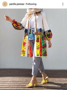 Modern Hijab Fashion, Muslim Fashion, Boho Fashion, Fashion Dresses, Womens Fashion, Girl Fashion, Stylish Clothes For Women, Stylish Outfits, Mode Abaya