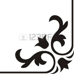 Calligraphy Stock Photos And Images - MOLDES DIBUJOS Y LETRAS - calligraphy: Calligraphical figures created for registration of pages, books, diplomas. Stencil Patterns, Stencil Designs, Stencils, Plasma Cutter Art, Doodle Frames, Barn Wood Crafts, Turkish Art, Black And White Drawing, Scroll Design