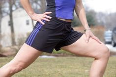 It mimics sciatic pain but its not. Meralgia paresthetica is a condition marked by pain, tingling or numbness in the front and outer thigh. It occurs when a sensory nerve that runs along the thigh muscles becomes constricted. A few key exercises can reduce and eventually prevent symptoms.