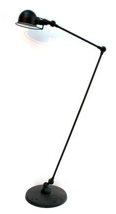 Jieldé - stålampe - sort