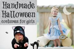 6 Handmade Halloween Costumes For Girls | Child Mode