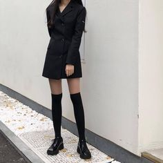 Image about fashion in *+ . my style ˚· * by ˚✧⁎sophia⁺˳✧༚ Edgy Outfits, Cute Casual Outfits, Fashion Outfits, Korean Outfit Street Styles, Korean Outfits, Korean Girl Fashion, Aesthetic Clothes, Ideias Fashion, My Style