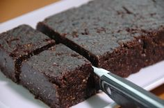 Recetas :: Raw Brownie Sin Gluten, Cacao Cru, Raw Brownies, Pastel, Chocolate, Health And Nutrition, Feel Better, Healthy Snacks, Vegetarian Recipes