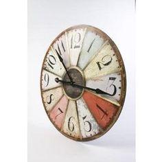 Retro Multicoloured Clock.