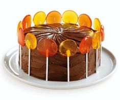 Fall Cake (sounds easy and looks great )