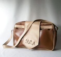vintage messenger bag business professional weekender carry on by RecycleBuyVintage, $18.00