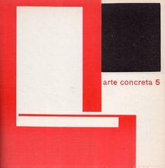 """Bruno Munari, copertina del quinto bollettino di """"Arte concreta"""", marzo 1952 / Courtesy collezione Giancarlo Iliprandi"""