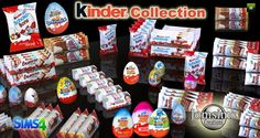 Kinder Collection at Jomsims Creations via Sims 4 Updates