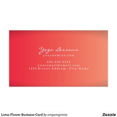 Lotus flower business card yoga business cards pinterest lotus lotus flower business card mightylinksfo