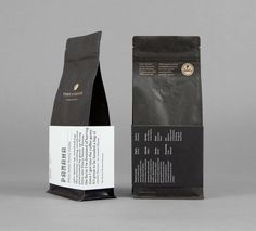 Toby's Estate coffee bean packaging designed by Maud.