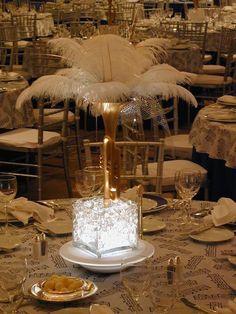 White Palm.. Gold Setting..