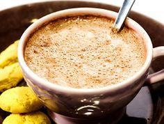 Varm choklad med armagnac