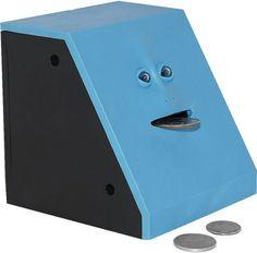 Coin Eating Face Bank — Good gift for your weirdo friend…