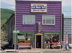 Rockaway Beach, Oregon. My uncle has a little beach house here.