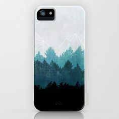 Woods Abstract  iPhone & iPod Case by Mareike Böhmer Graphics - $35.00