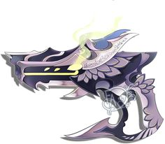 Weapon Adoption re-open: Dragon themed Gun by Forged-Artifacts.deviantart.com on @DeviantArt