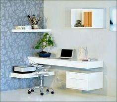 Floating office solution ideas For Small Space