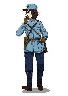 Anime Military, Military Girl, Fantasy Comics, Anime Fantasy, Cool Anime Girl, Anime Guys, Character Art, Character Design, Armadura Medieval