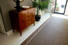 Mauve floor? No more! Paint Ceramic Tile