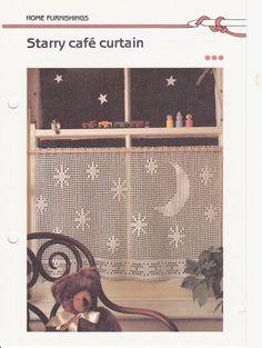 crochet cafe curtain