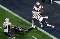 Malcolm Butler's goal-line pick clinches #SuperBowl win for #Patriots, 28-24 against defending champion #Seahawks. #Sports #NFL