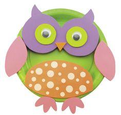 Creatology® Owl Activity Plate Kit, large