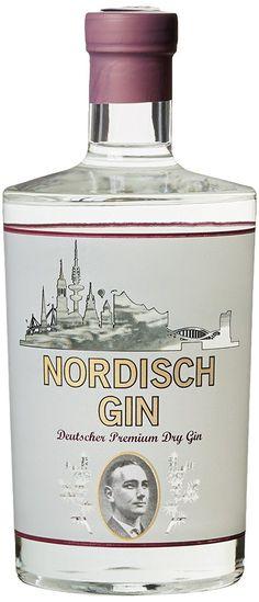 Nordisch Gin Deutscher Premium Dry Gin x l) Whisky, Gin Tasting, Gin Lovers, Gin Bottles, Hooch, Dry Gin, Scotch Whiskey, Gin And Tonic, Geneva