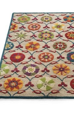 Wellsboro Indoor Area Rug. This is the rug I want to base my living room around!!