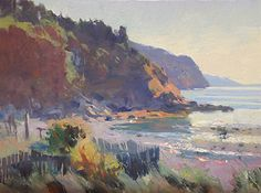 "Tribune Bay by Kevin Macpherson Oil ~ 12"" x 16"""