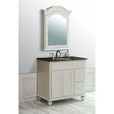 "Snow White 36"" Bathroom Vanity Set Stufurhome http://www.amazon.com/dp/B00B33MQQE/ref=cm_sw_r_pi_dp_Hqmwvb0ZV8PAZ"
