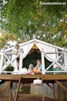 treehouse festivities
