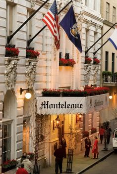 Hotel Monteleone ~ luxury hotel in the French Quarter