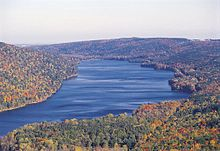 Finger Lakes (near Rochester, NY) in the Fall