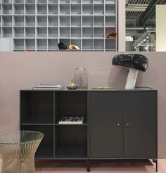 Montana stand at the Stockholm Furniture Fair. #danish #design #montana #furniture #systemfurniture #cabinets #storage